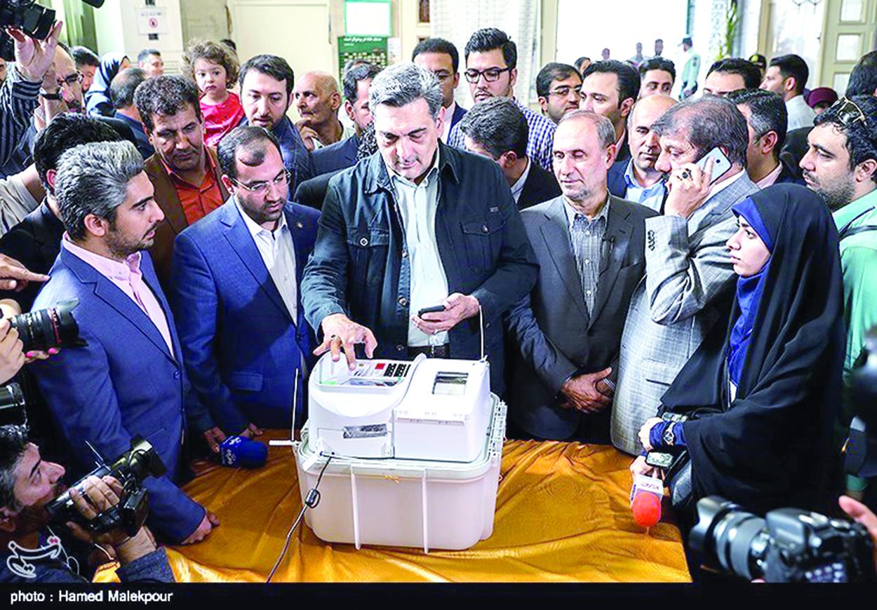 نخستین انتخابات تمام الکترونیکی   پس از  انقلاب توسط شهرداری تهران برگزار شد