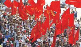 بلوا و اعتصاب در میانمار