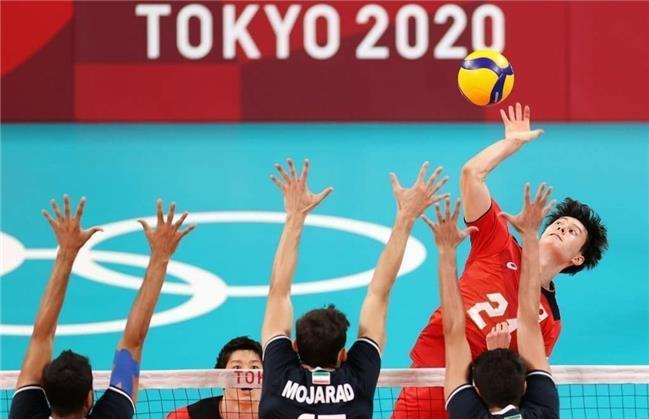 حذف تیم ملی والیبال ایران  از المپیک توکیو