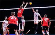 ایران 2 - آلمان 3/ باخت دوباره در ست پنجم