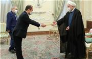روحانی: مشکلات ایجاد شده ناشی از تحریم های غیرقانونی آمریکا بر روابط کره جنوبی با ایران باید هرچه زودتر حل و فصل شود/ استفاده ایران از ذخایر مالی خود در بانکهای کره جنوبی حق روشن و واضح ما است