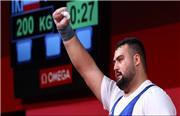 علی داودی در فوق سنگین المپیک 2020 توکیو مدال نقره گرفت