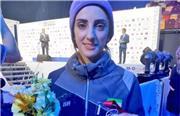 شاهکار الناز رکابی، دختر سنگنورد ایرانی در مسابقات جهانی