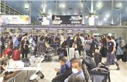 ازدحام و بی نظمی در مرزهای ایران و عراق  در میانه همهگیری کرونا