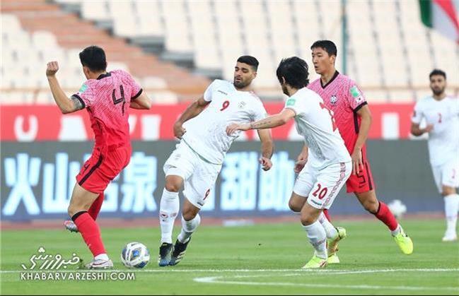 کرهایهااز باخت مقابل ایران قسر در رفتند!